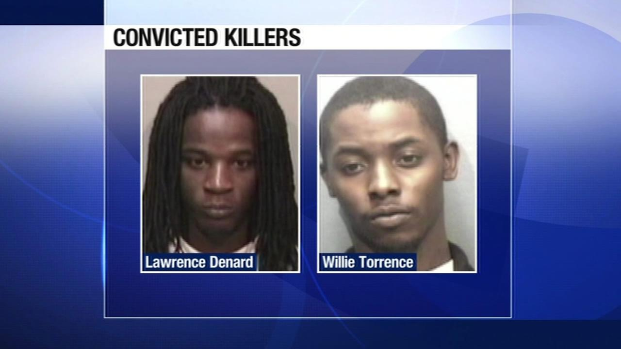 Lawrence Denard, 29, and Willie Torrence, 25, were sentenced to life in prison for the 2011 fatal shooting of a 3-year-old boy in East Oakland.