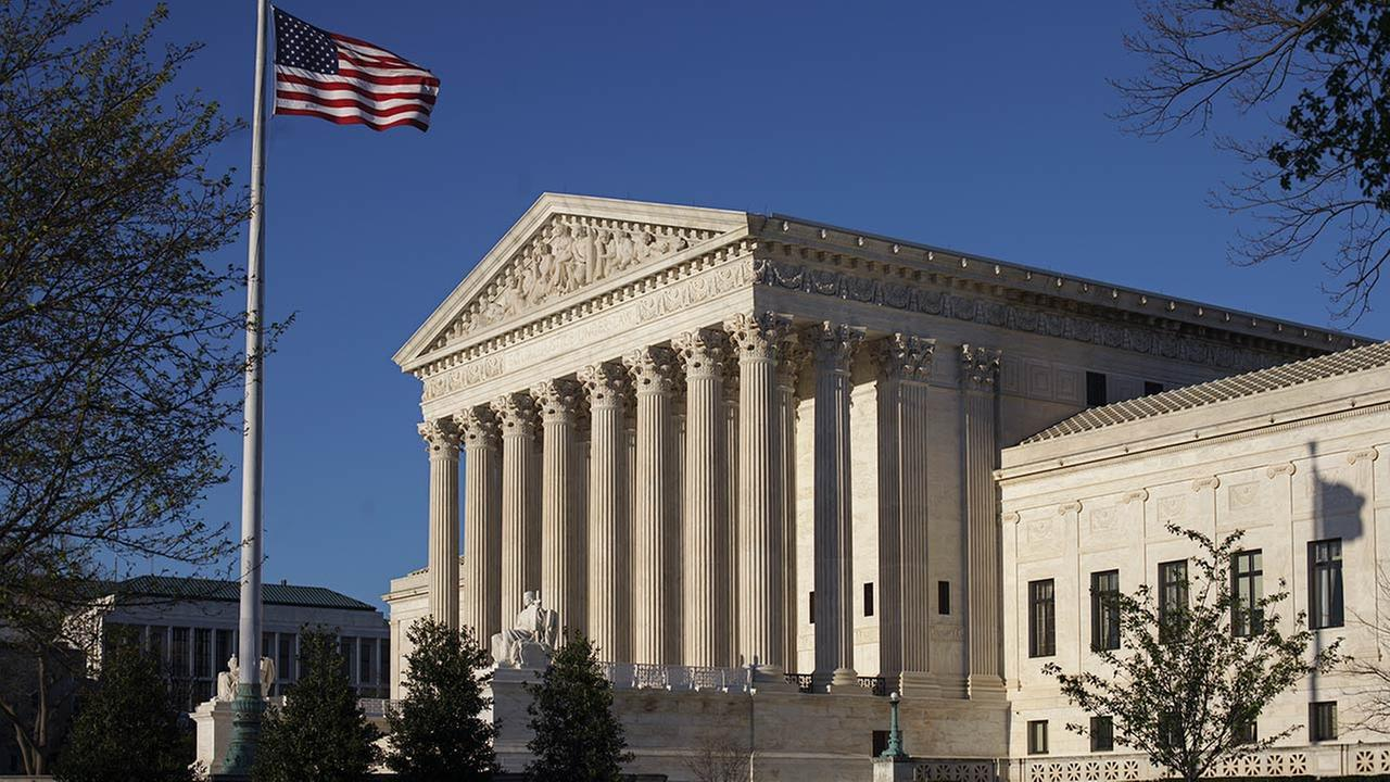 The Supreme Court is seen in this undated image.