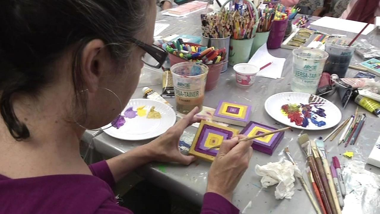 UCSF art program for patients