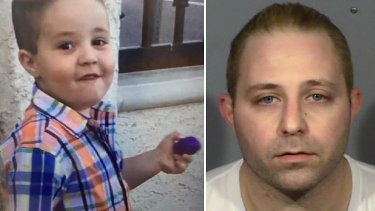 These undated images show Aramazd Andressian Jr., left, and Aramazd Andressian Sr.. right.