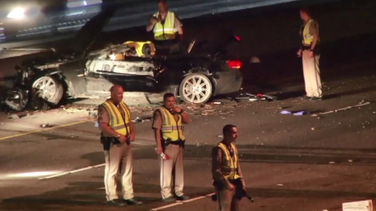 Fatal accident on Highway 101 in Santa Clara.