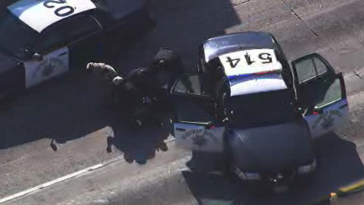 CHP chase ends in Oakland.