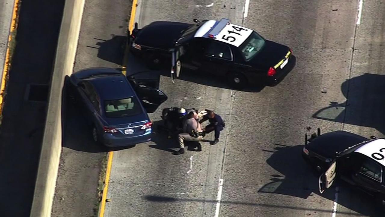 CHP arrest man on I-880 after police pursuit