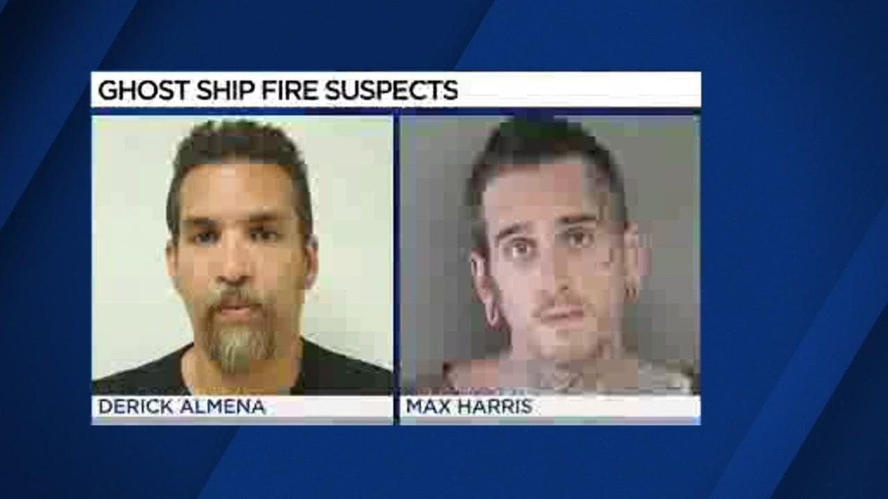Lawyers for Ghost Ship fire suspects seek lower bail for clients