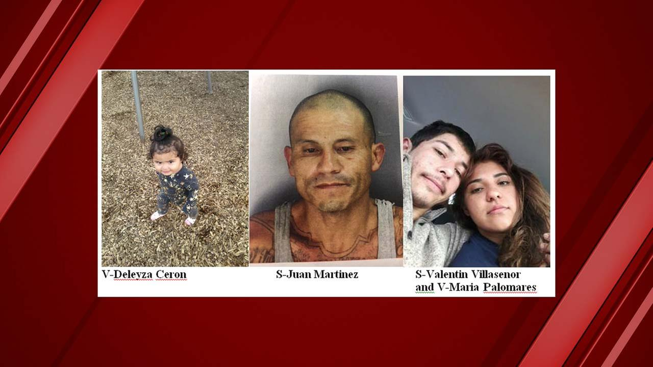 California Amber Alert for missing 1-year-old girl