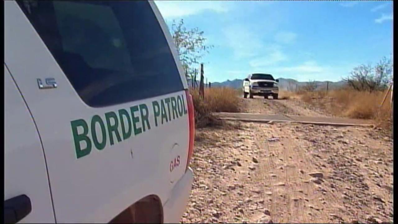 This is an undated image of a border patrol vehicle.