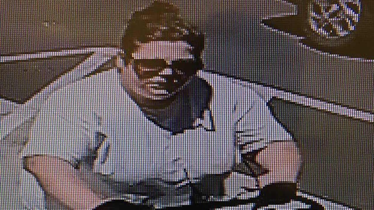 Officials say this surveillance image shows Rohnert Park, Calif. Michelle Marie Kruse on July 10, 2017.