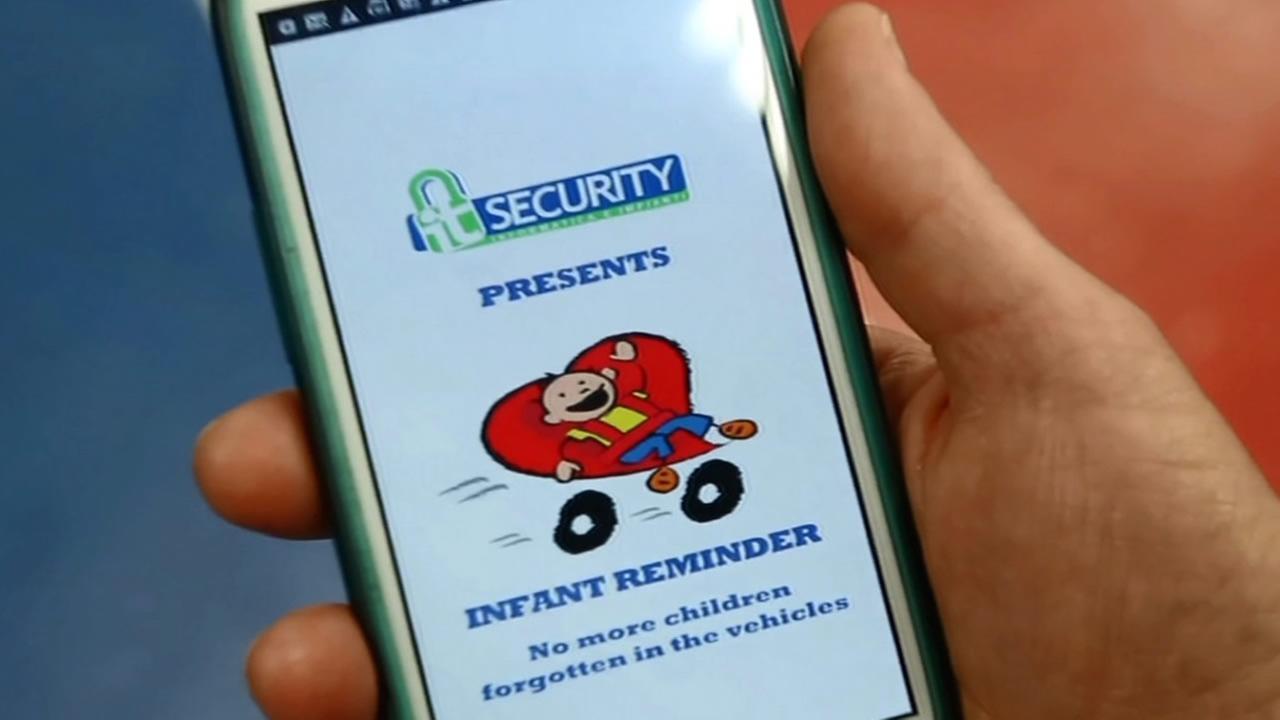 Infant Reminder app.