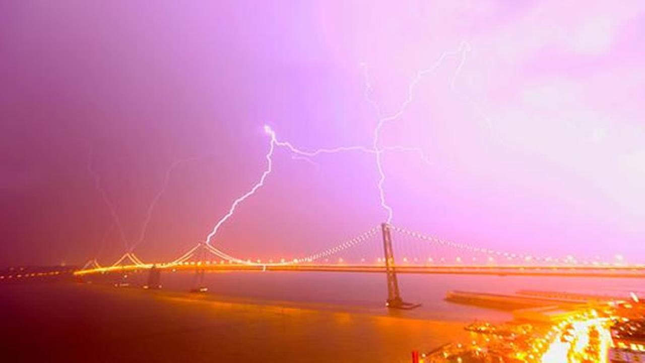 Here are some images from our viewers and reporters of the amazing storms that passed through the Bay Area Thursday night.