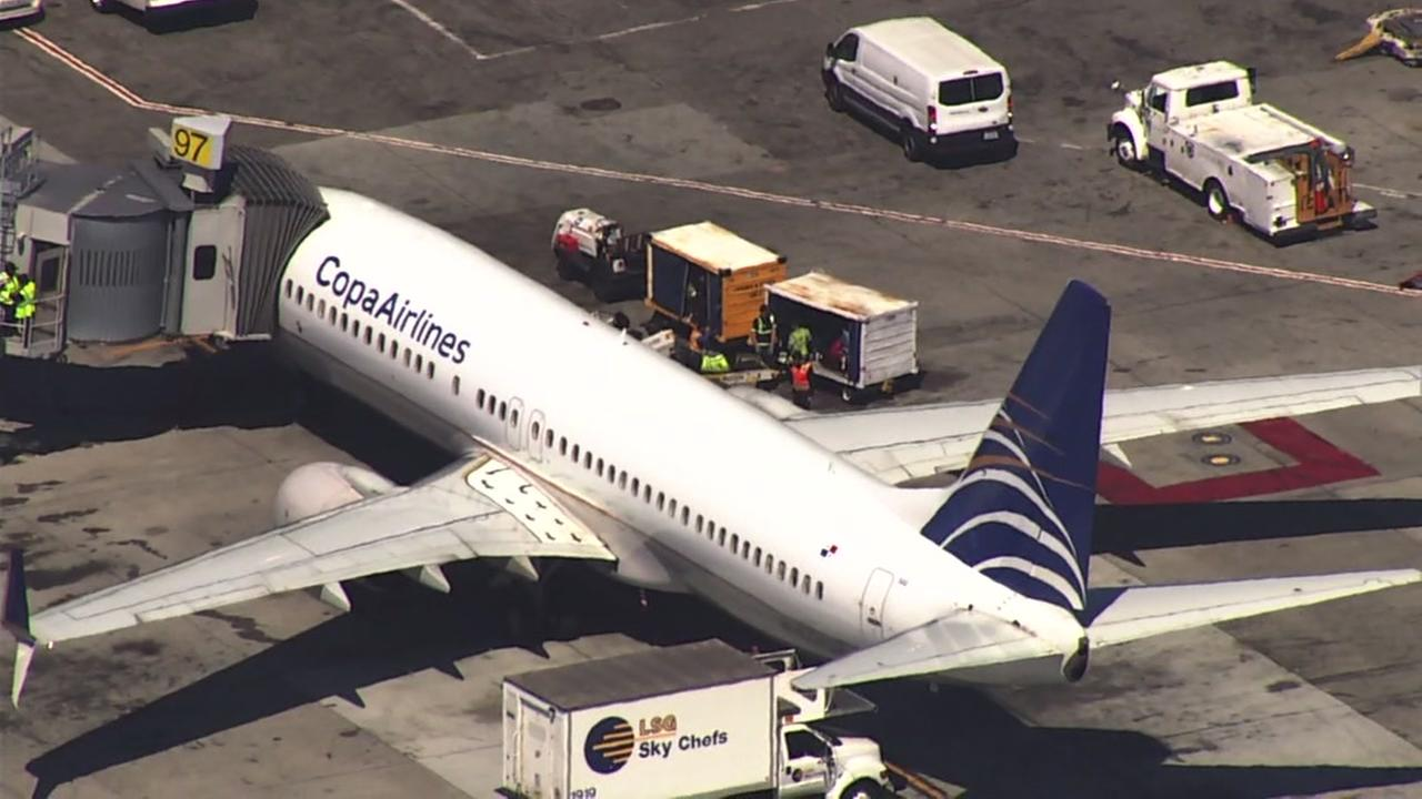 Teen jumps from plane ready to taxi at San Francisco airport
