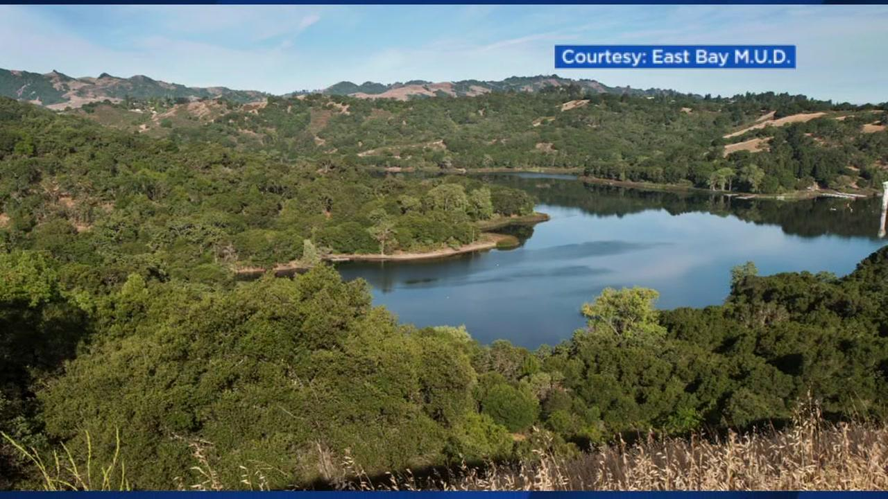 This is an undated image of the Lafayette Reservoir in Lafayette, Calif.