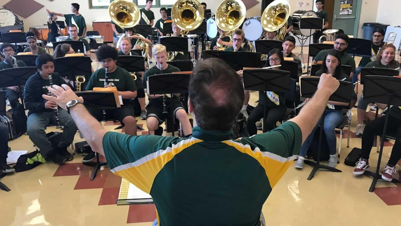 Capuchino High School marching band tries to relive legacy