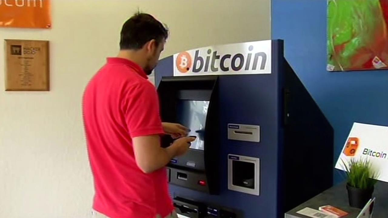 A new kind of ATM made its debut in Silicon Valley. But it doesnt dispense cash, it allows people to buy or sell bitcoin.