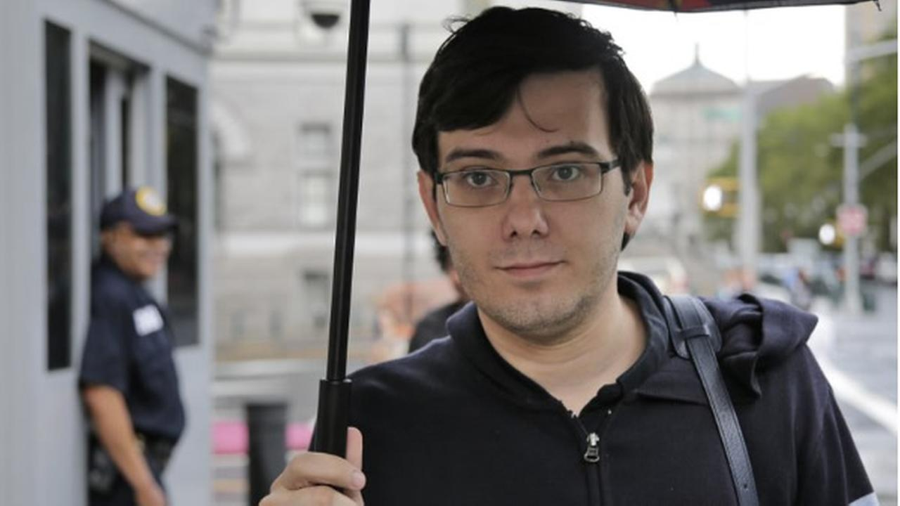 Martin Shkreli is seen in this undated image. (AP photo)