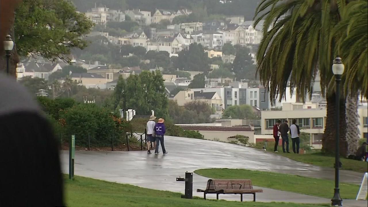 High humidity levels hit the Bay Area making residents hot, sticky