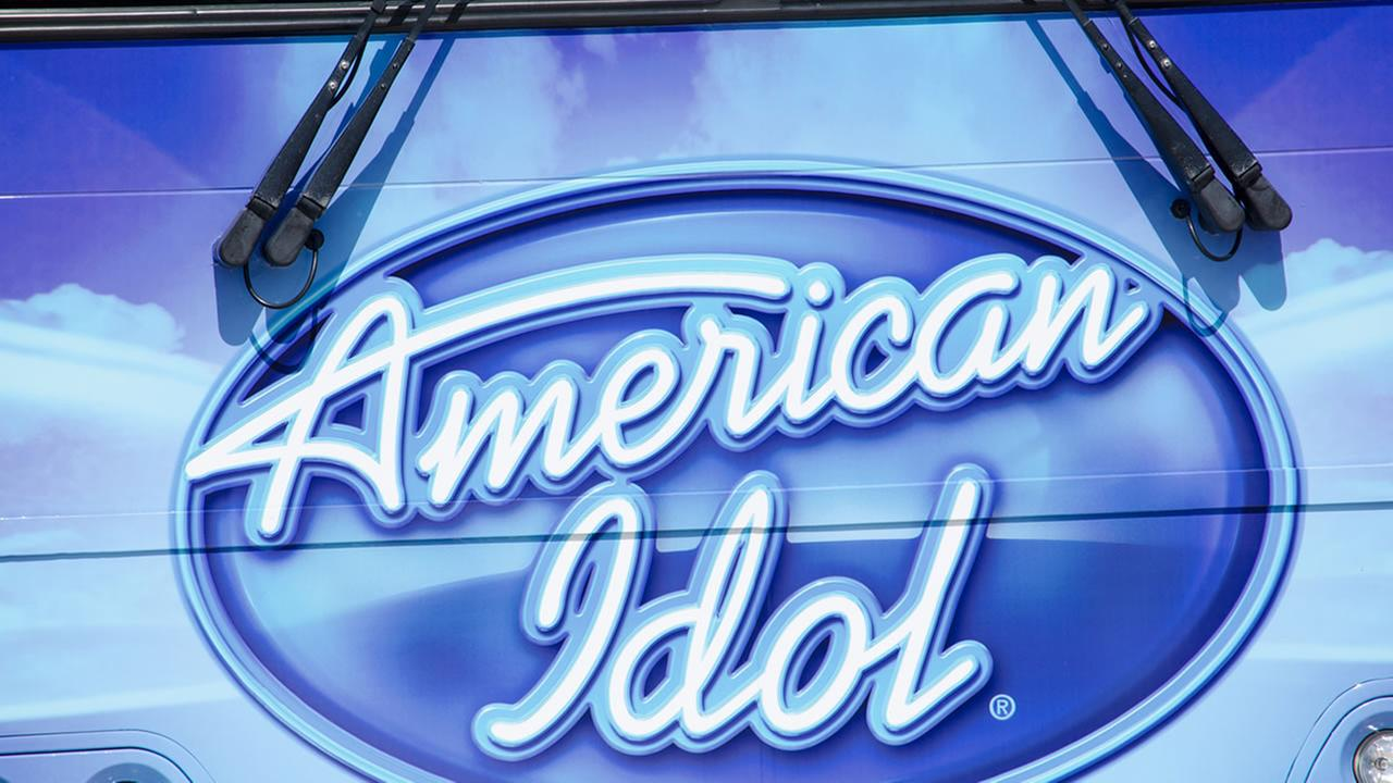 This image from 2015 shows a sign for American Idol auditions in San Diego.