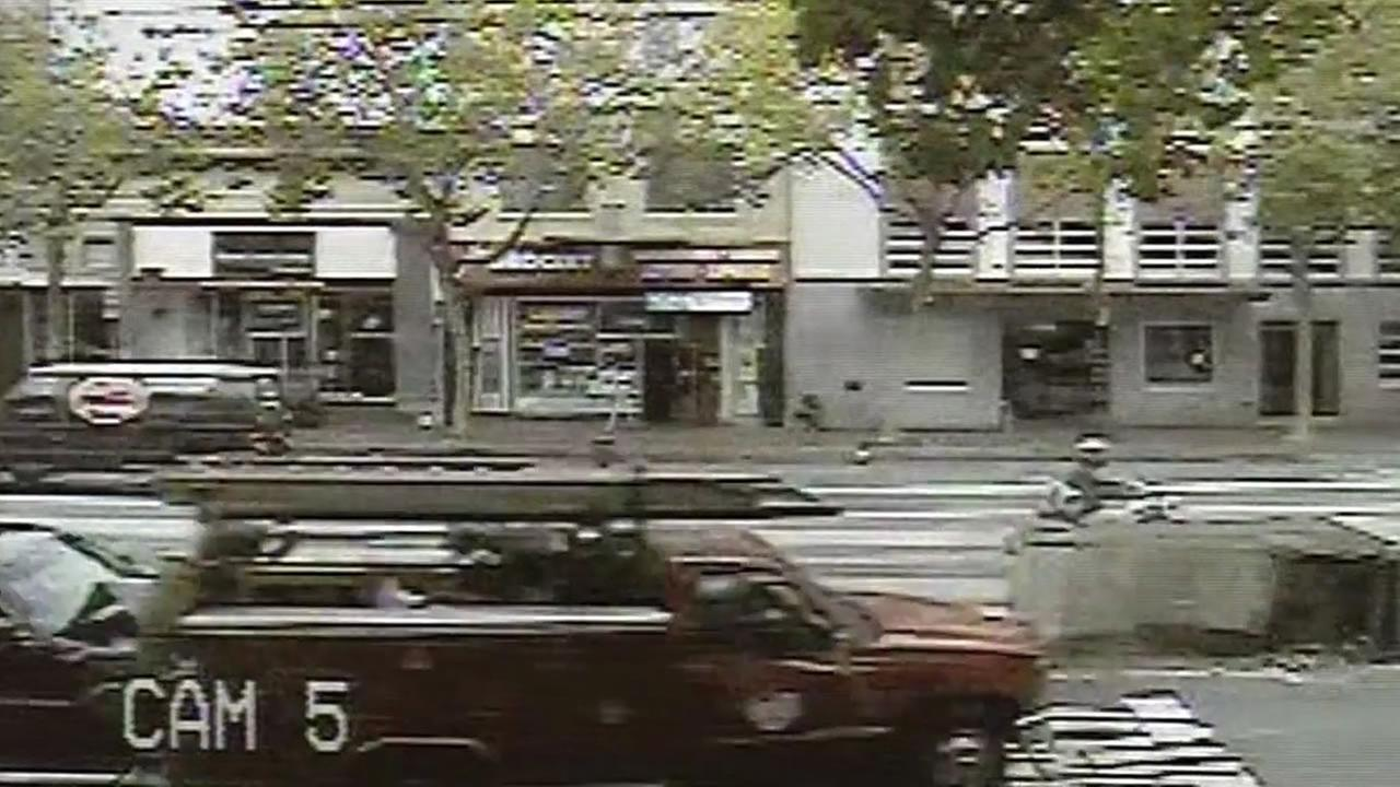 San Francisco carjacker crashes a truck into a limo on Market Street