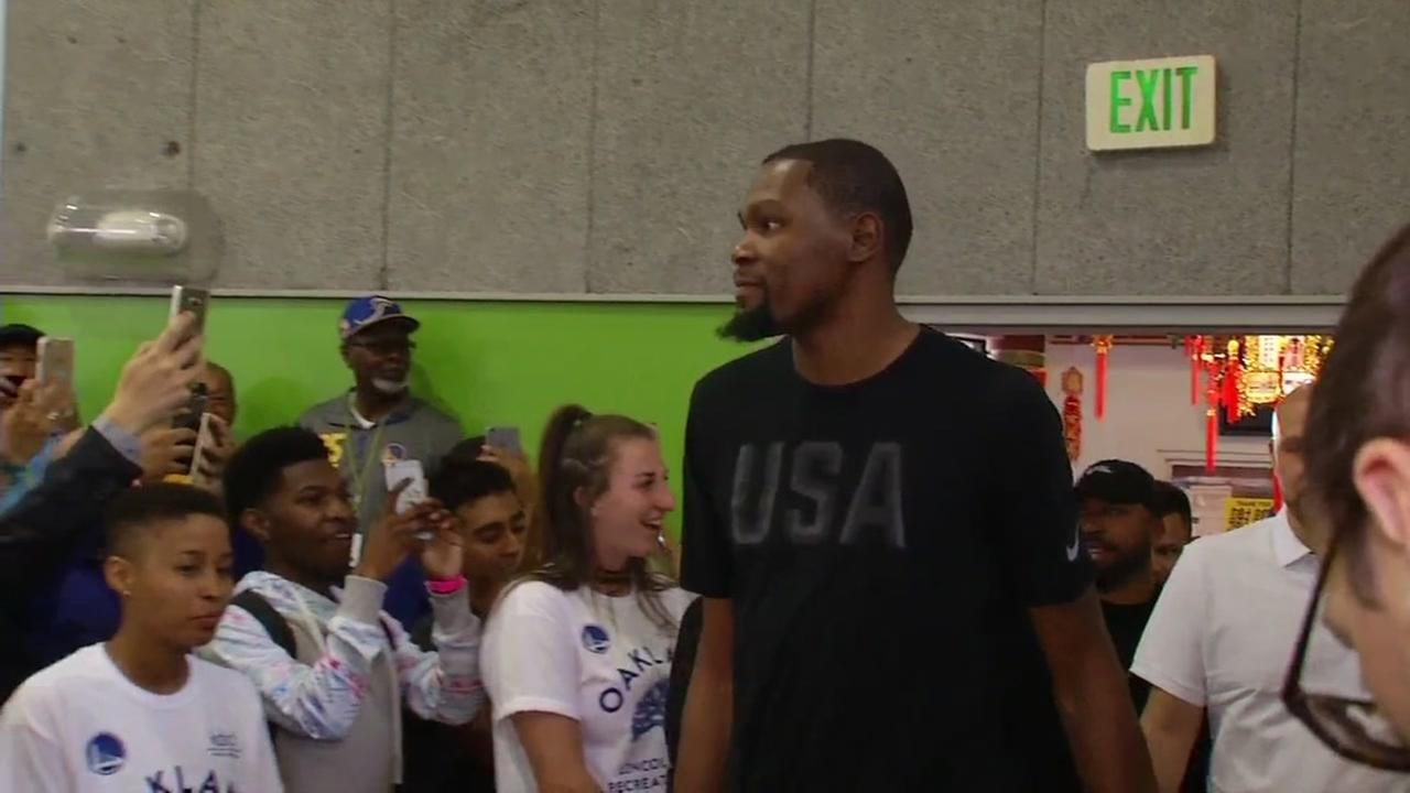 Kevin Durant apologizes for comments made after trip to India