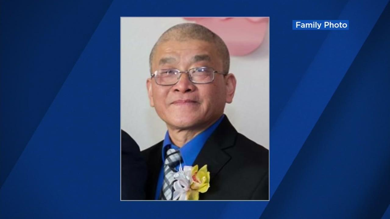 This is an undated image of 57-year-old Hieu Charlie Ly, who was killed in San Jose.