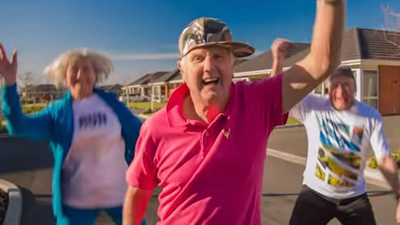 Anyone who cant get enough of the song Happy by Pharrell is really going to like this new video of a group of seniors putting their own spin on the hit.