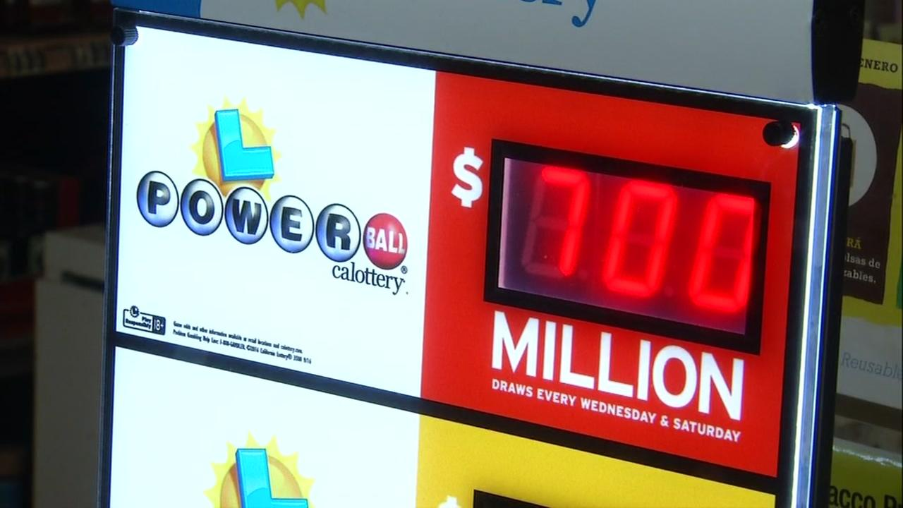 FILE -- Powerball sign