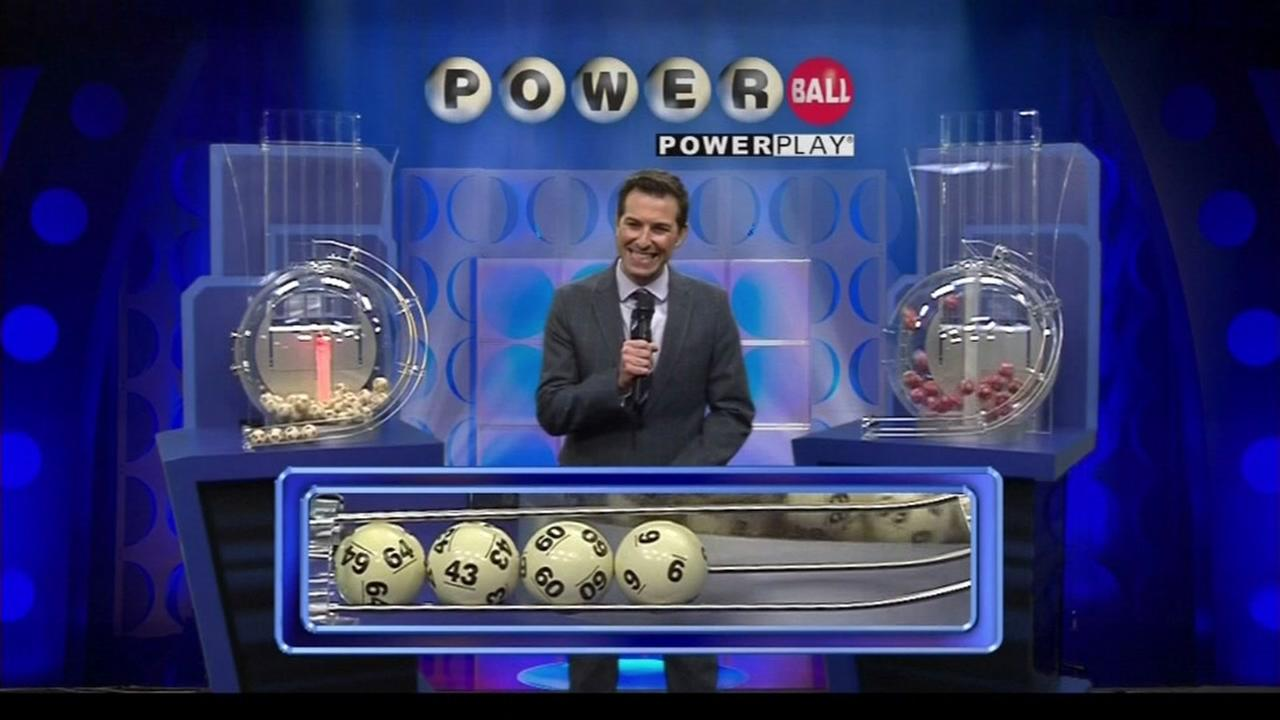 FILE -- Powerball jackpot drawing