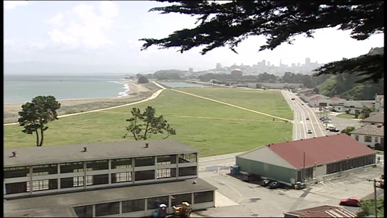 FILE -- Crissy Field, San Francisco