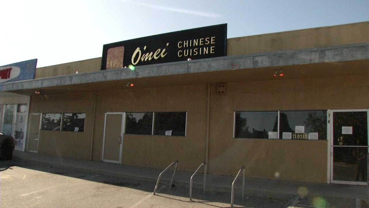 The Omei Chinese restaurant in Santa Cruz appears closed on Wednesday, Aug. 30, 2017.