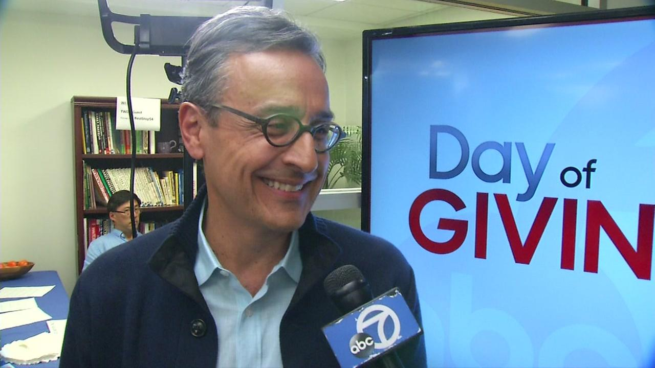 Hewlett-Packard Chief Marketing Officer Antonio Lucio visited ABC7 in San Francisco on Thursday, Aug. 31, 2017.