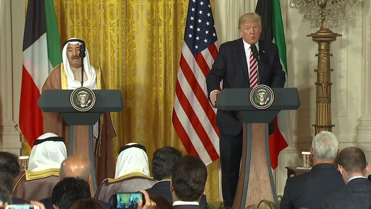 Donald Trump Jokes About Shared Media 'Problems' with Amir of Kuwait