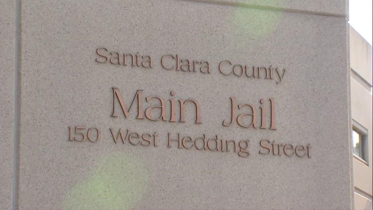 This is an undated image of the sign in front of the Marin County Jail.