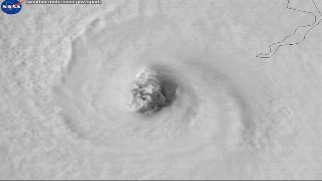 This is an undated image of Hurricane Irma.
