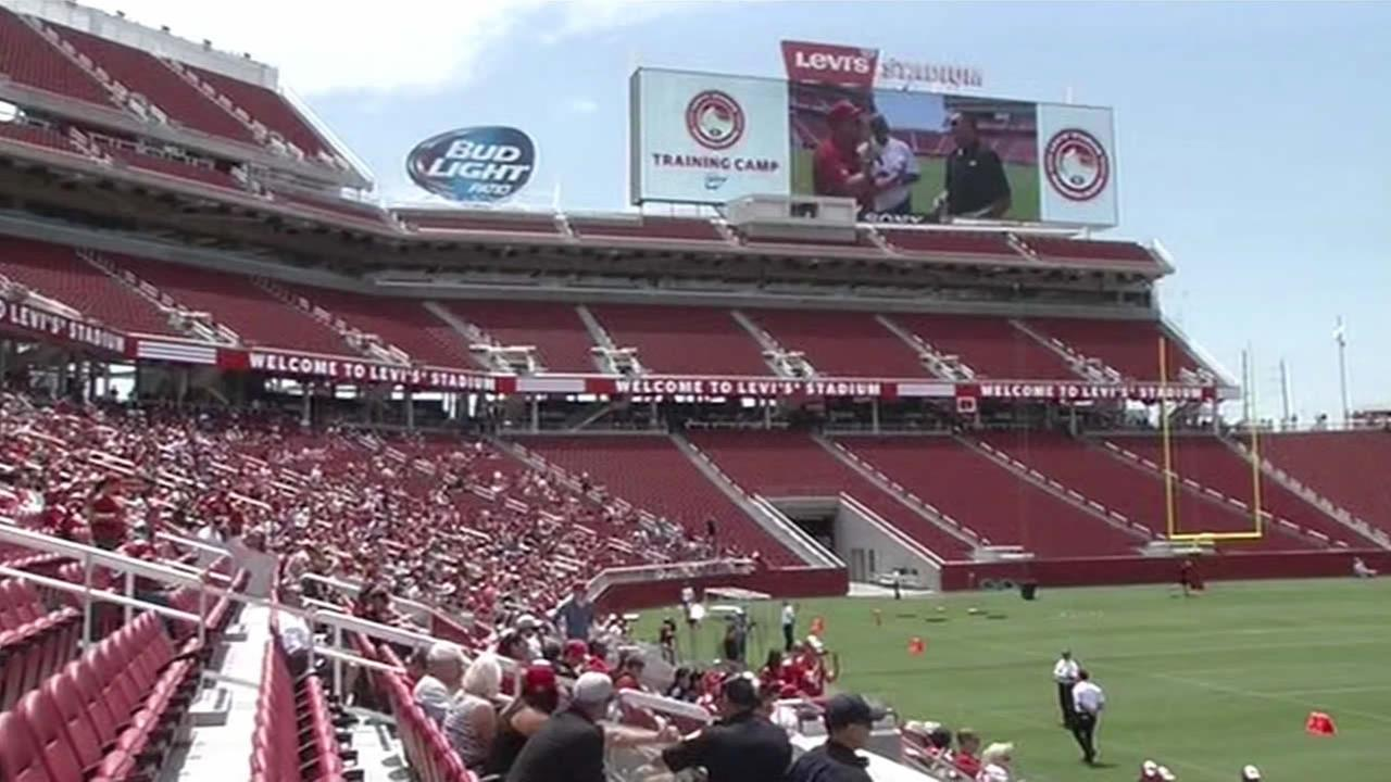 49ers practice at Levis Stadium@MikeShumann