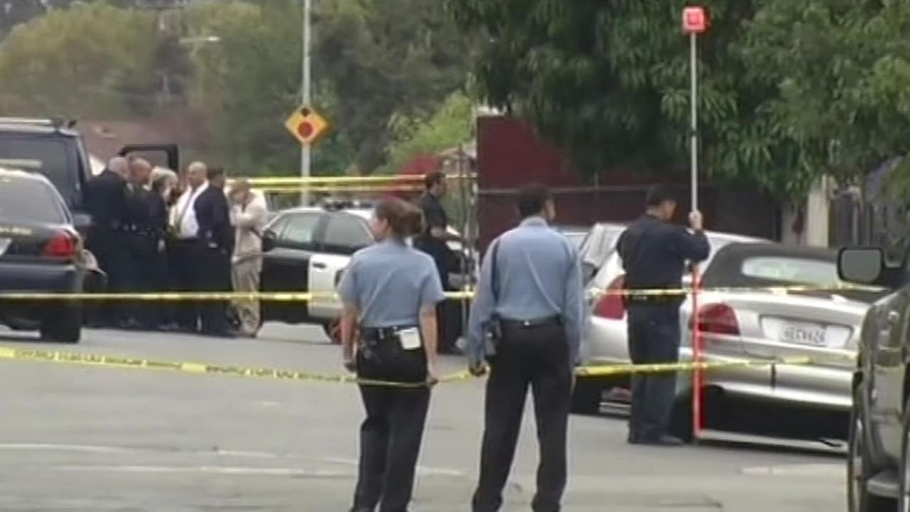 Authorities investigate officer-involved shooting in Oakland.