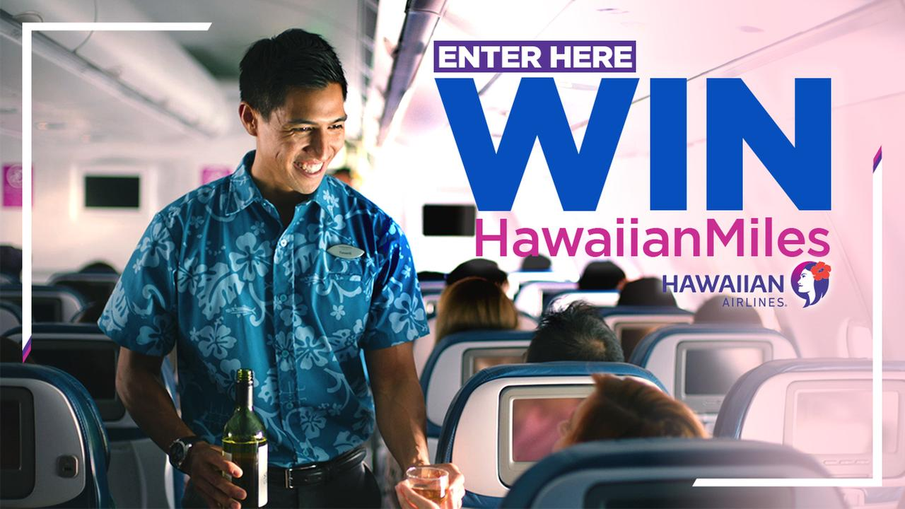 Enter to win 120,000 Hawaiian Airlines miles