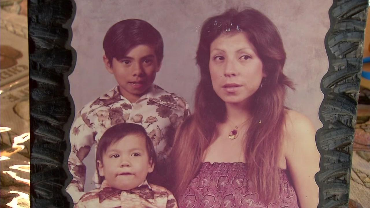 This is an undated image of the Miramontes family prior to mother Kathys death.