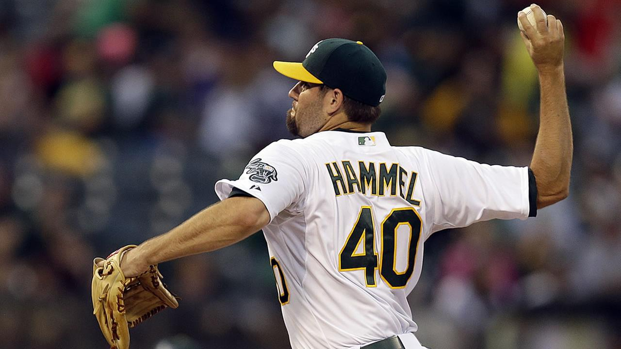 Oakland Athletics Jason Hammel