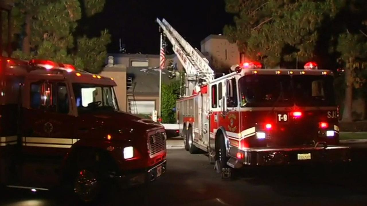 Fire at Atria Willow Glen Senior Living administration building in San Jose