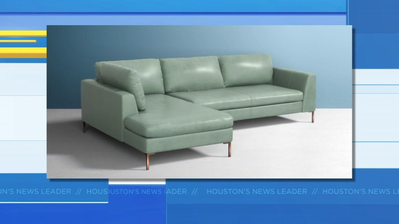 Technical glitch made sofa appear to be a steal