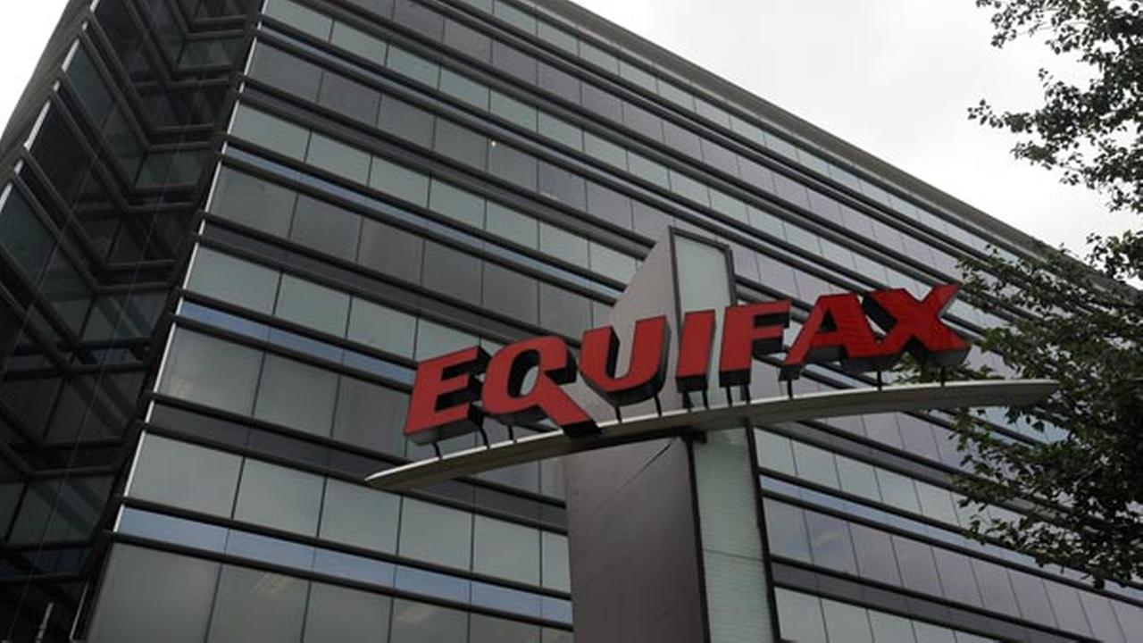 Equifax Inc. is seen, Saturday, July 21, 2012, in Atlanta. Equifax Inc. is a consumer credit reporting agency in the United States. (AP Photo/Mike Stewart)