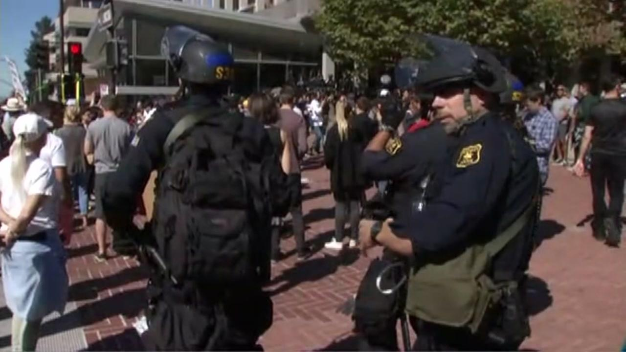 FILE -- Police in Berkeley, California.