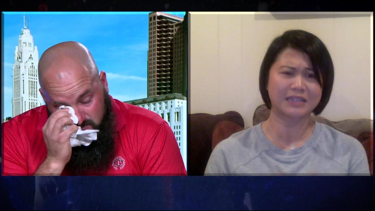Kody Robertson spoke via a Skype interview with CNN and the sister of Michelle Vo, a former San Jose, Calif. resident who was killed in the Las Vegas shooting on Oct. 1, 2017.