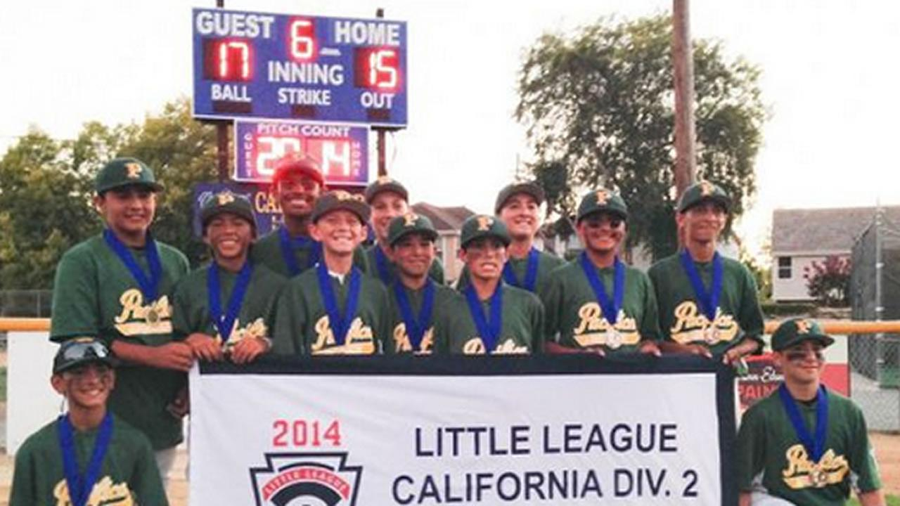 The Pacifica American little league All-Stars playing for the right to go to the Little League World Series.