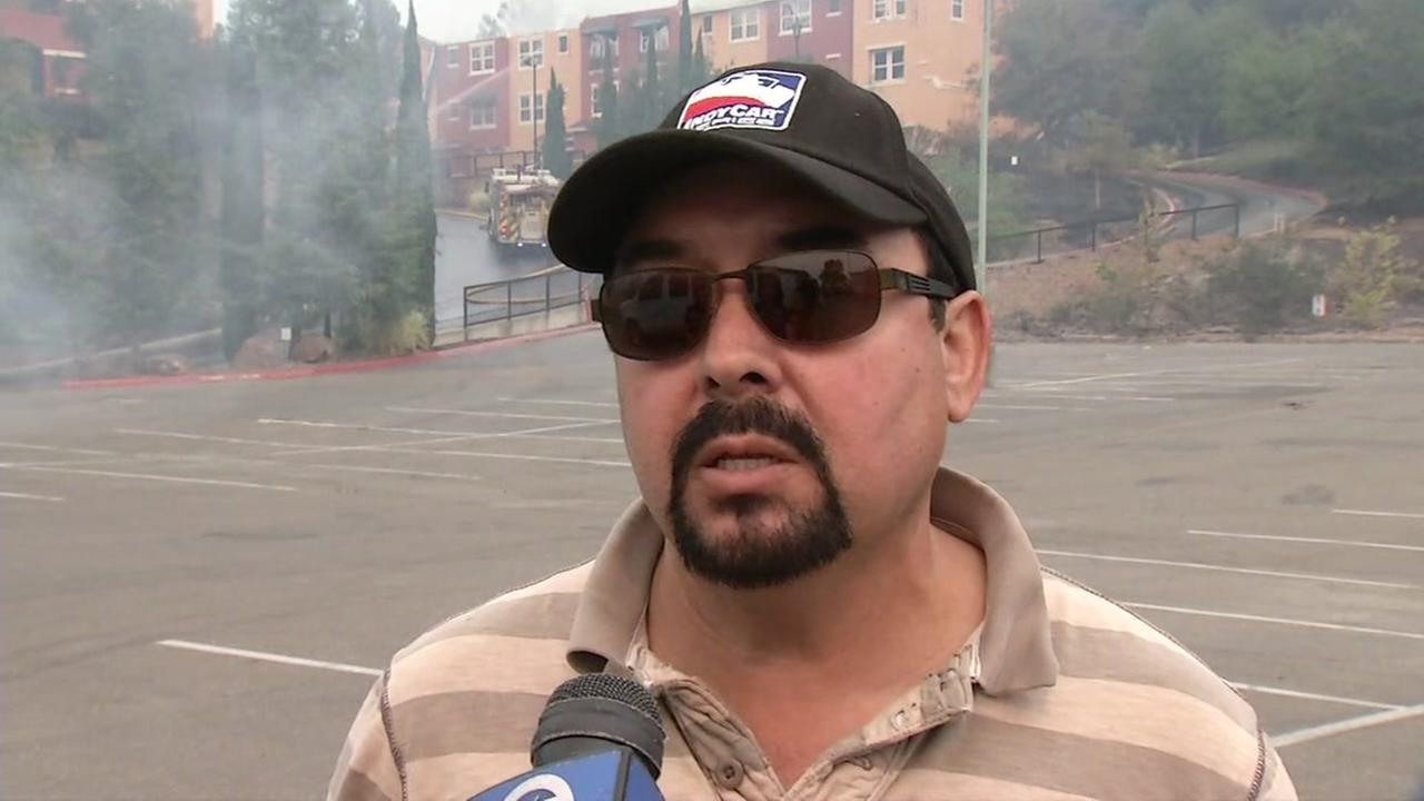 FILE -- Robert Gutierrez of Santa Rosa, California, on Monday, October 9, 2017.