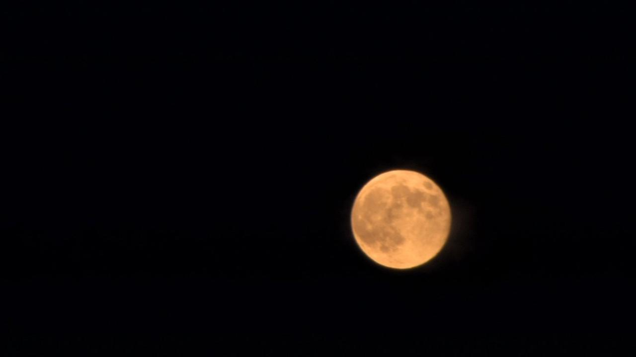 Supermoon as seen on August 10, 2014 in the Bay Area.