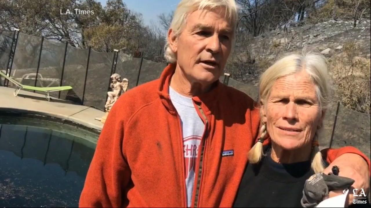 ABC News obtained video from the LA Times of Jan and John Pascoe.