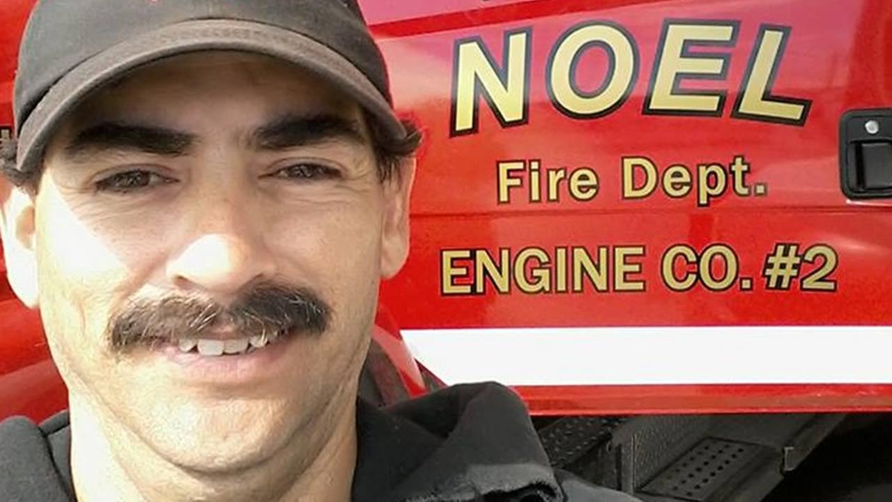 This undated image shows Garrett Paiz. The 38-year-old Missouri resident died on Monday, Oct. 16, 2017 in Santa Rosa, Calif. while battling the deadly North Bay fires.