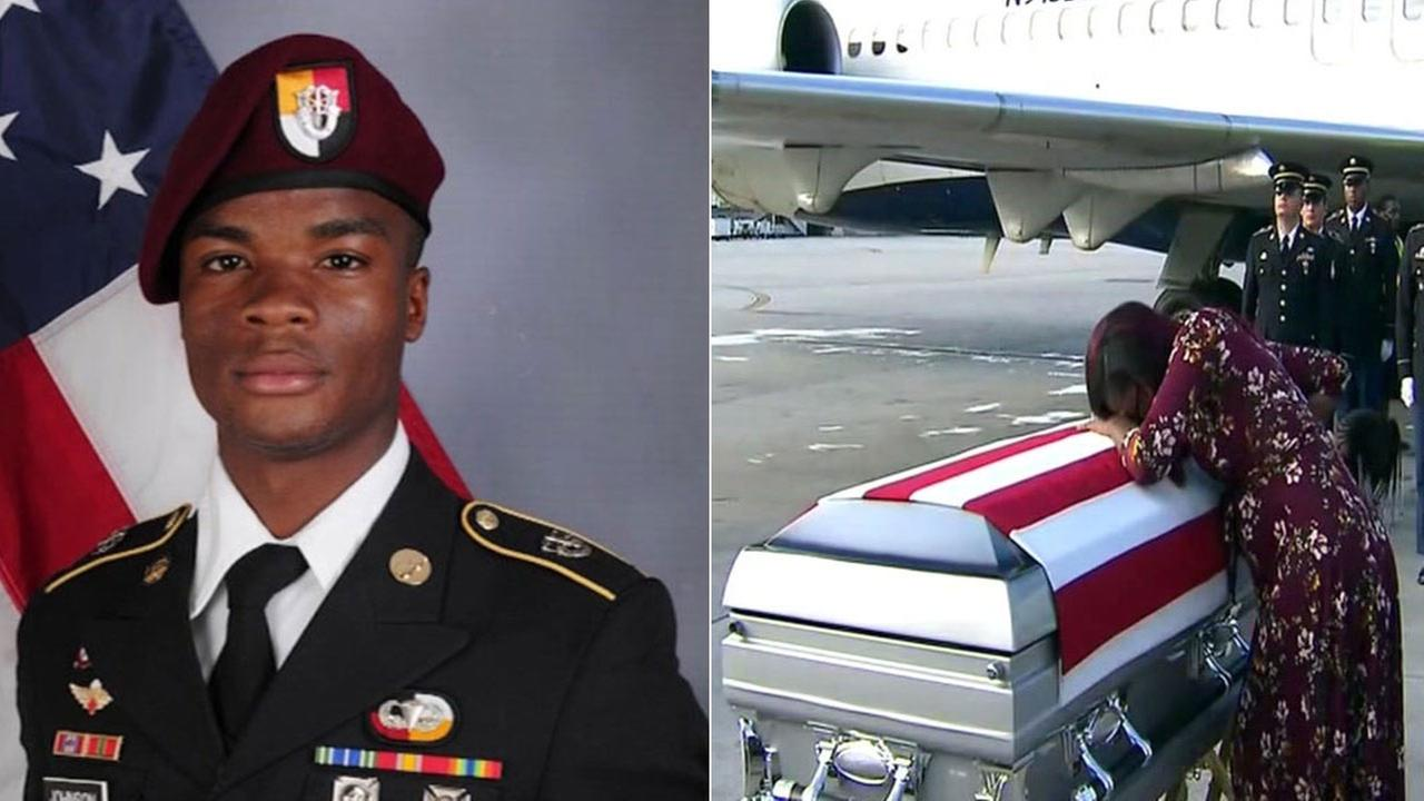 Sgt. La David Johnson was killed earlier this month in Niger when he was ambushed by militants believed to be linked to ISIS.