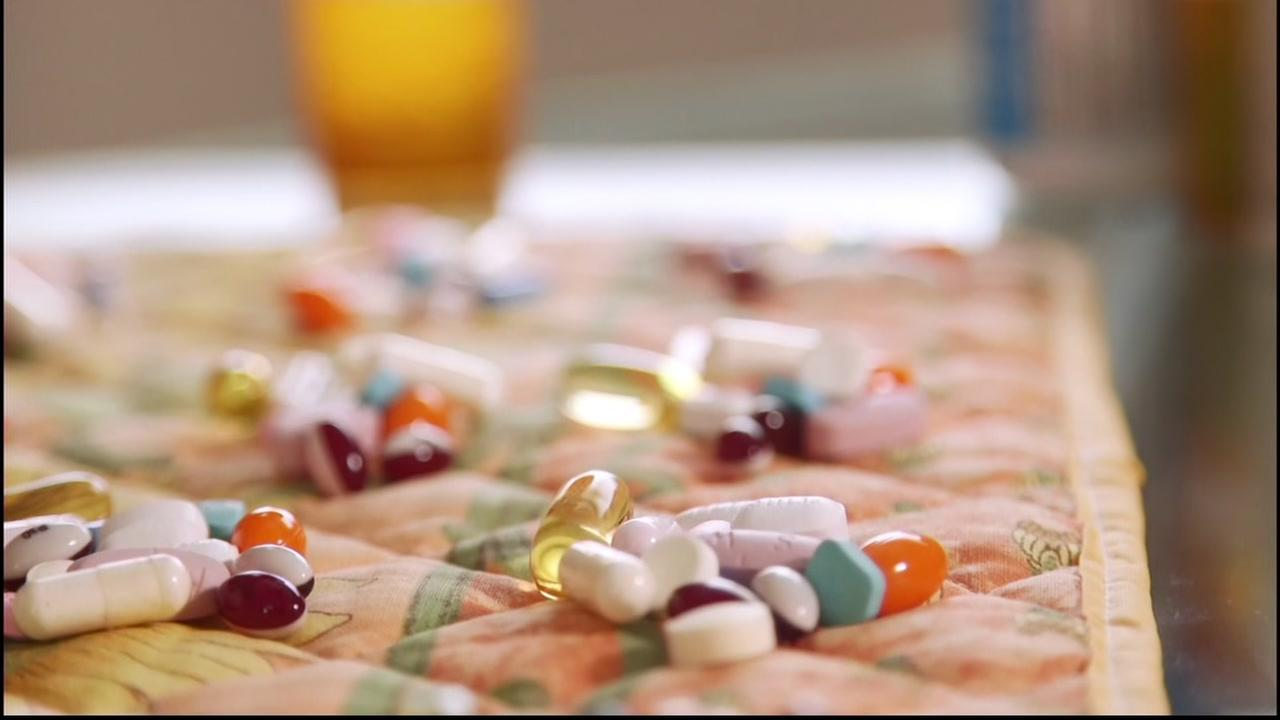 This is a generic image of pills.