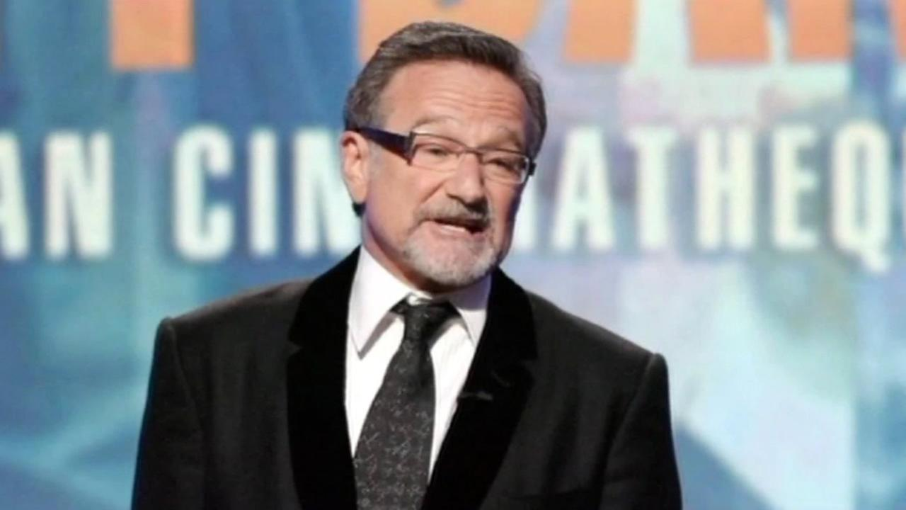 Actor and comedian Robin Williams.